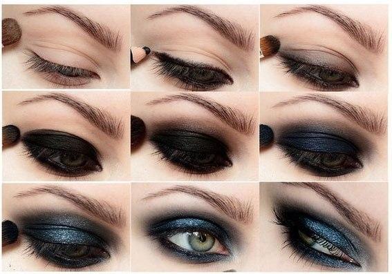 Как сделать макияж поэтапно