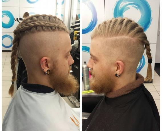 Причёски с косичками для мужчин