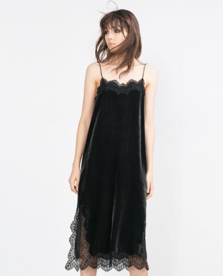 Купить Платье Комбинацию С Кружевом
