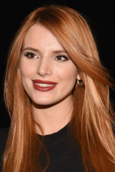 Цвет волос клубнично рыжий