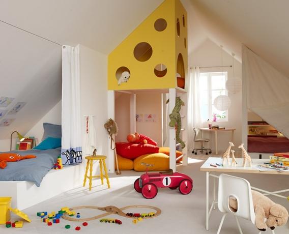 Kinderzimmer kreativ gestalten