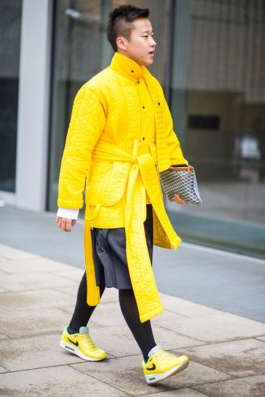 Если носить одежду желтого цвета