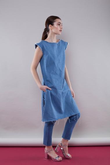 Модная джинсовая одежда и джинсовый стиль — фото, тенденции, тренды, фасоны изоражения