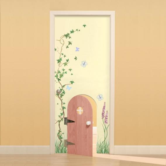 Как обновить дверь своими руками, реновируем старые 63