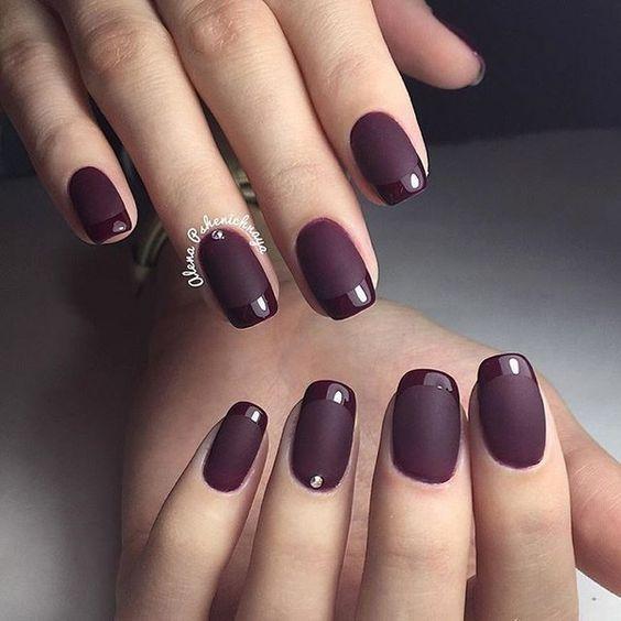 Дизайн ногтей под френч