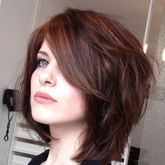 Причёска каскад фото на короткие волосы
