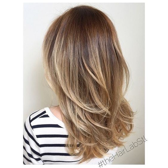 на средние волосы филировка волос