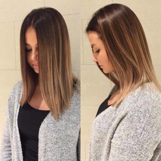 Модное окрашивание и модный цвет волос 2017 (фото), Модные тенденции на средние и длинные волосы