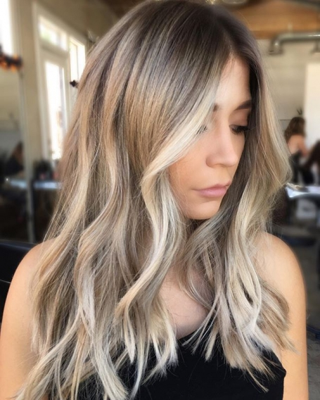 Крутой цвет волос