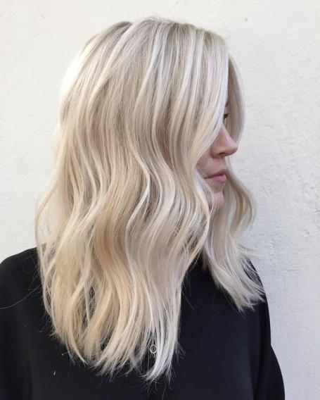 Модные цвета блонд 2017