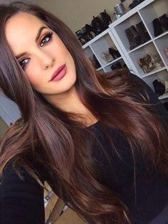 Цвет волос коричневый натуральный