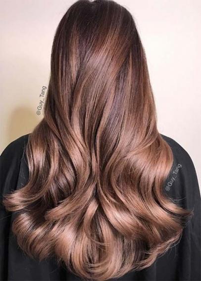 модные оттенки волос 2017 фото