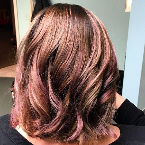 Модный цвет волос фото