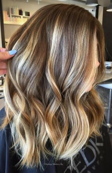 Покраска волос 2017 модные фото