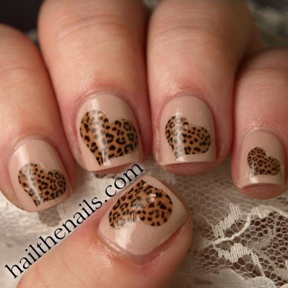 Фото дизайна ногтей к дню святого валентина 72