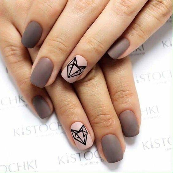 Самый модный рисунок для ногтей