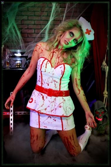Костюм медсестра на хэллоуин своими руками фото 557