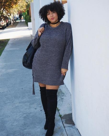 Как одеться девушке с нестандартными параметрами, советуют рlus size модели