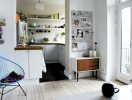 Идеи дизайна для кухни с балконом (ФОТО 20+)