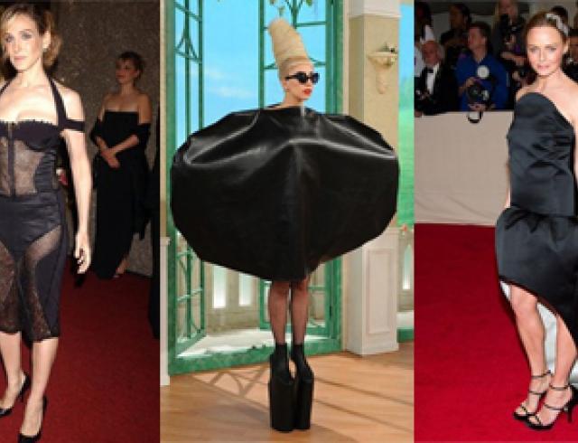 фото платьев чёрных