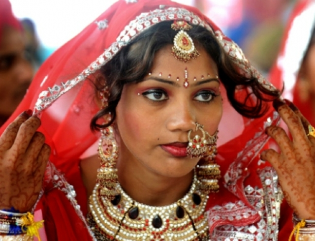 arranging a marriage in india nanda