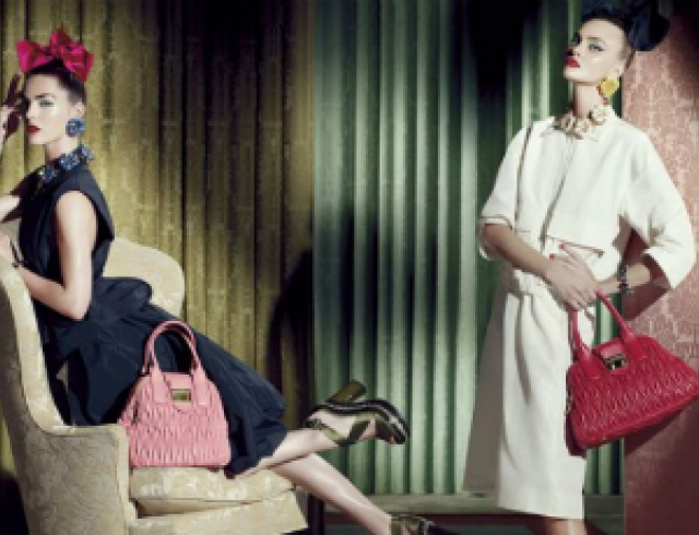 Рекламная кампания Miu Miu Resort 2013