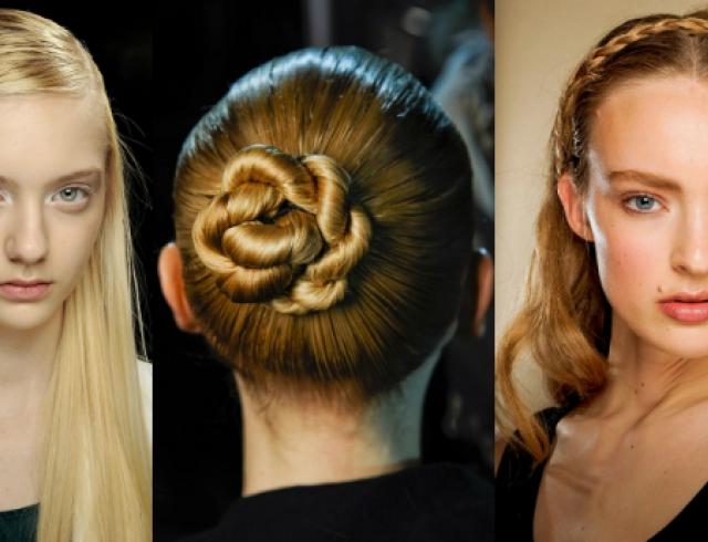 модные прически зимы 2012 с распущенными волосами