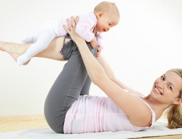 как похудеть после родов кормящей маме упражнения