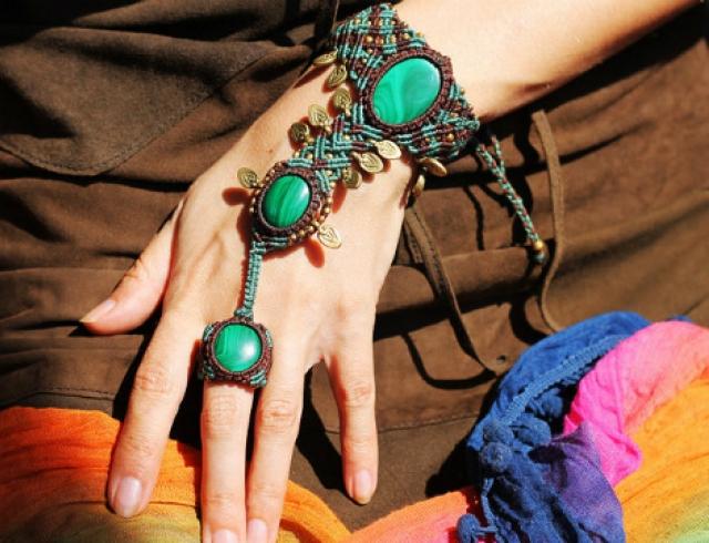 Браслеты кольца своими руками фото