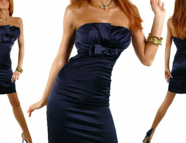 Платье с одним швом мастер класс