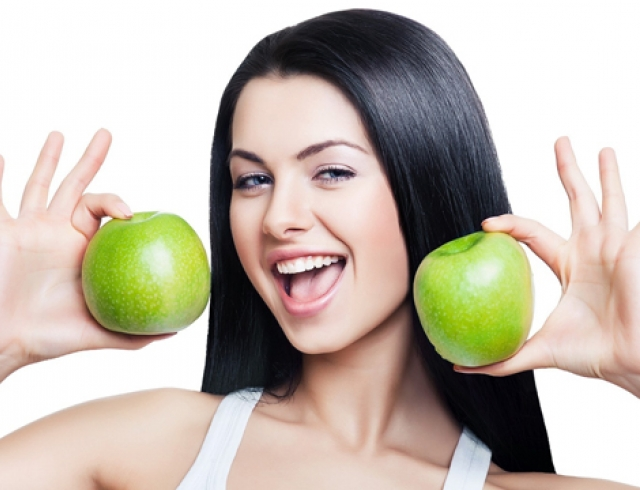 Питание для здоровой кожи лица.