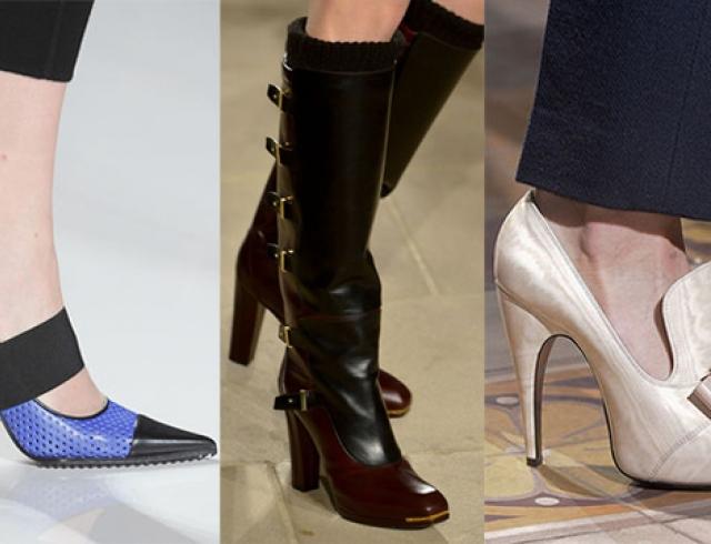 Самая модная женская обувь осенью-зимой 2013-2014 – фото трендов осени 2013 в обуви для женщин