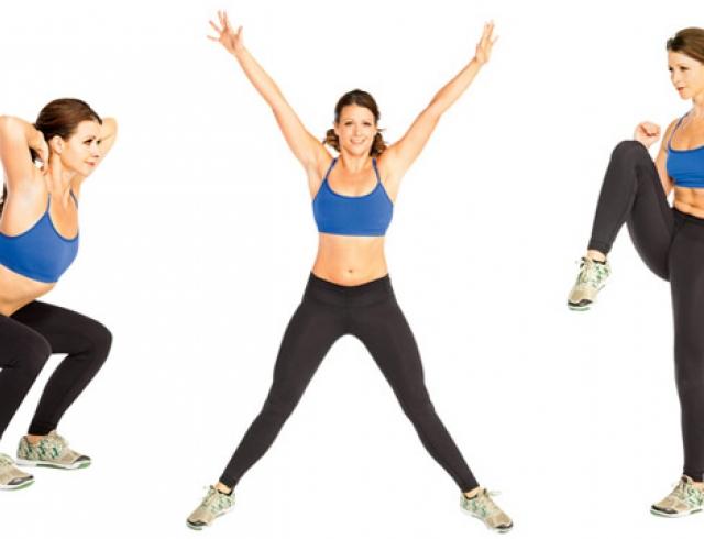 комплекс упражнений жира на животе