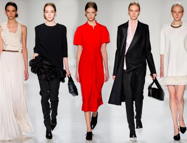 5c67bde87a0 Неделя моды в Нью-Йорке  Victoria Beckham осень-зима 2014-2015