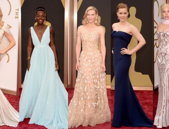 73be1066e1b7 Оскар 2014  лучшие платья звезд