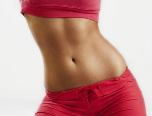как убрать жир с живота упражнения