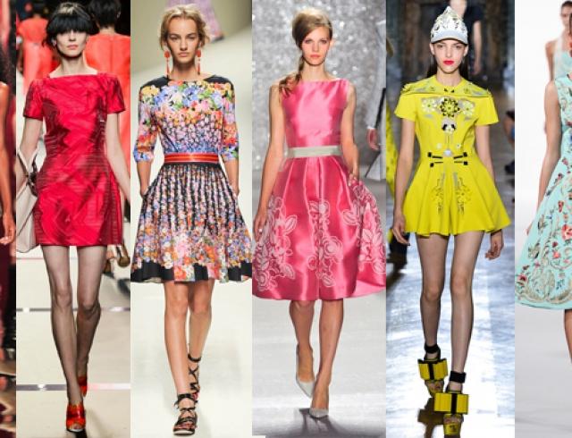 Платья модные в этом сезоне