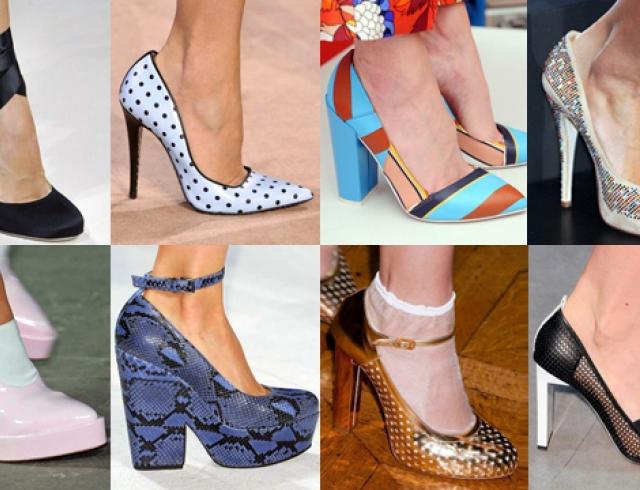 c83aff3d8 Модная обувь сезона весна-лето 2014: туфли