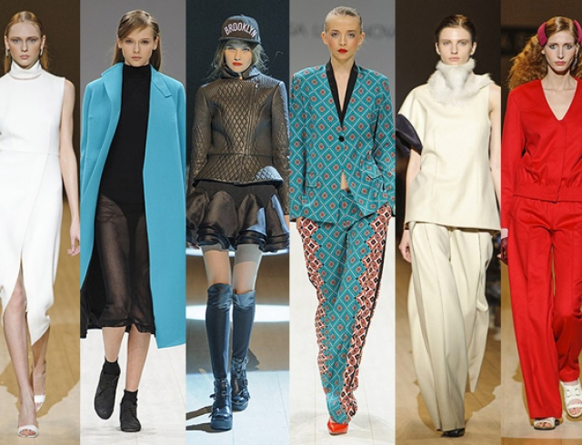 Мода Осень Зима 2015 Одежда