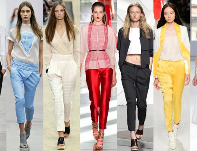 Модные женские брюки лето 2017 женские