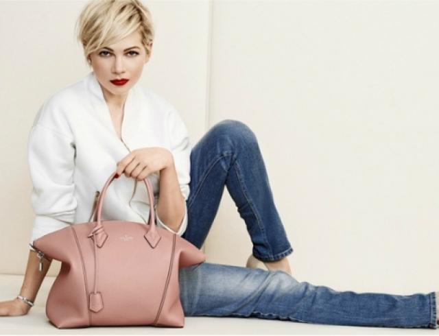 Мишель Уильямс представила новую коллекцию сумок Louis Vuitton 54ee391a66b