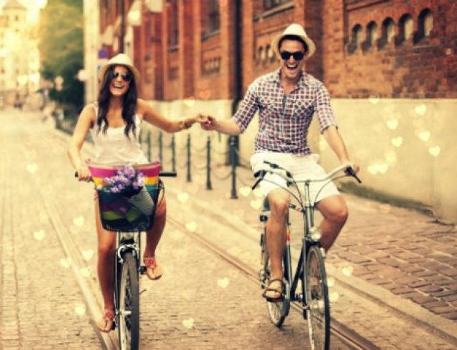 Секс парней на велосипеде