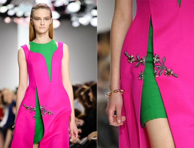 Ассиметричное платье Christian Dior c144239745b
