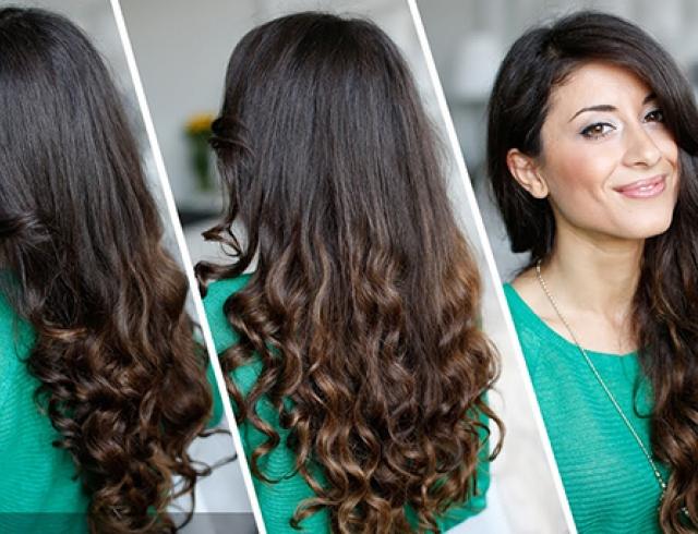 Как сделать чтоб волосы были красивые