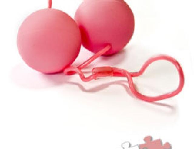 Вагинальные шарики с силиконовой веревочкой — photo 10