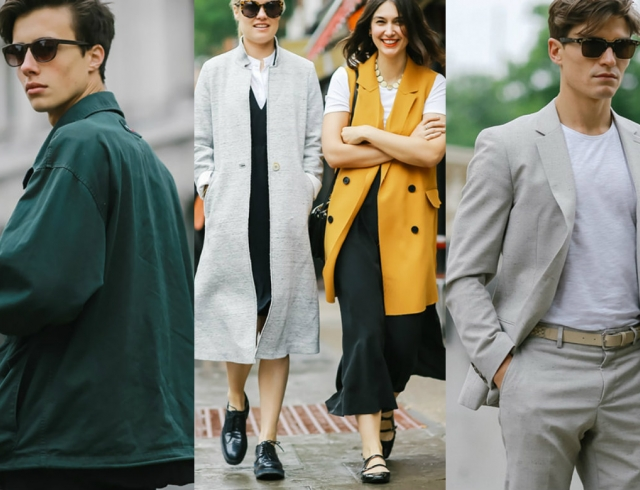 df0aef077d1 Street style  Неделя мужской моды в Лондоне фото