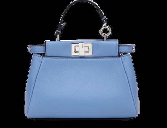 bf14d45f Нано-версия культовой сумки Fendi Micro Peekaboo стала обязательной вещью в  летней программе 2015 года. Рассмотрим поближе?
