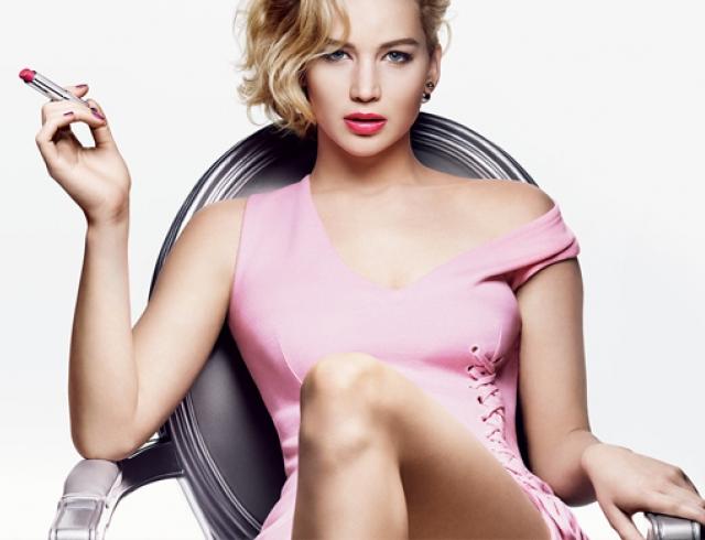 Дженнифер Лоуренс рекламирует новую линейку помад Dior Addict Lipstick. Видео