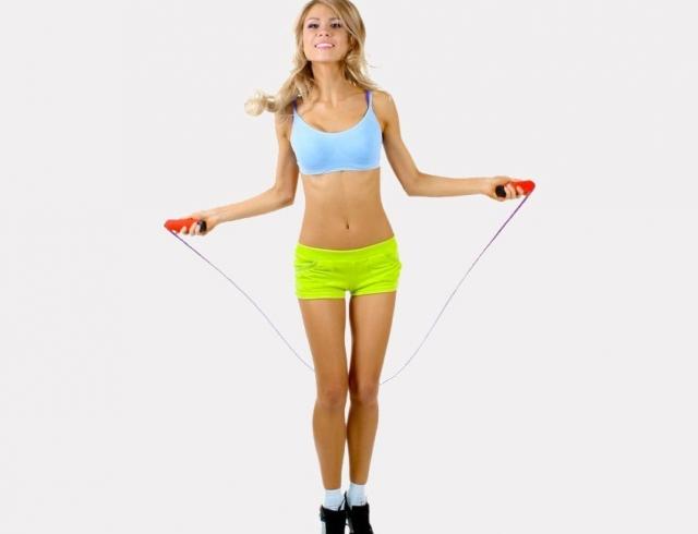 как прыгать на скакалке чтобы похудели ноги