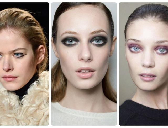 Нью-йоркская неделя моды: новый smokey-eyes и прически в стиле принцессы Леи картинки